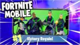 BACK TO BACK VICTORYS WITH THE DREAM TEAM! – Fortnite Battle Royale MOBILE