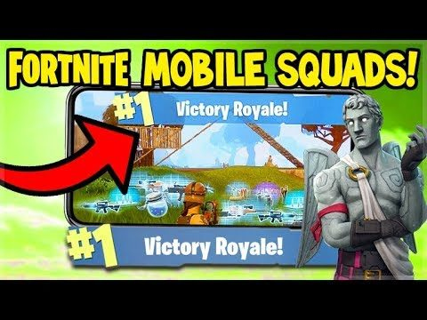 Fortnite MOBILE Gameplay – 3 WINS IN A ROW! – iOS Fortnite (Fortnite Mobile Gameplay)