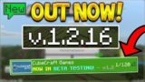 MCPE 1.3 NOT HAPPENING! – Minecraft Pocket Edition 1.2.16 OUT NOW! CubeCraft Beta!!