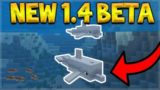 MCPE 1.4 BETA – NEW DOLPHINS MOB ADDED TO THE GAME! (Aquatic Update)