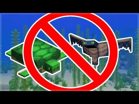 MCPE TURTLES & PHANTOM DELAYED! Minecraft Pocket Edition – Mobs WONT Be Added!