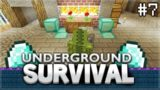 Minecraft Xbox – Underground Survival – 40 Diamonds Challenge! Episode 7