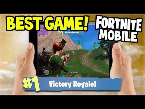 MY BEST EVER SOLO VICTORY ROYALE YET!!! – Fortnite: Battle Royale MOBILE!