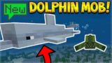 NEW DOLPHINS MOB! – THE BEST MOB EVER!! MINECRAFT POCKET EDITION 1.4 BETA (Aquatic Update)