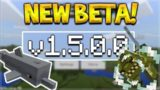 NEW MCPE 1.5.0.0 BETA! Minecraft Pocket Edition – Underwater Horses & Treasure Dolphins!