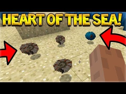 NEW Minecraft 1.3 BETA – HEART OF THE SEA & Nautilus Shell!