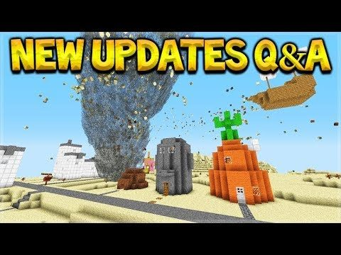 NEW Minecraft Updates – Natural Disasters & NEW Ores Q&A