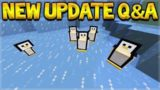 New Minecraft Updates – Penguin Mobs & More Villages Q&A