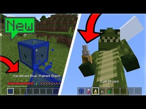 NEW SCIENCE UPDATE IN MINECRAFT 1.4 BETA (Hardened Glass Blocks!)