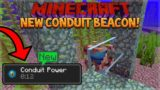 NEW UNDERWATER BEACONS! Minecraft 1.13 Snapshot 18W15A – Conduit Beacon, Heart Of The Sea & Dolphins