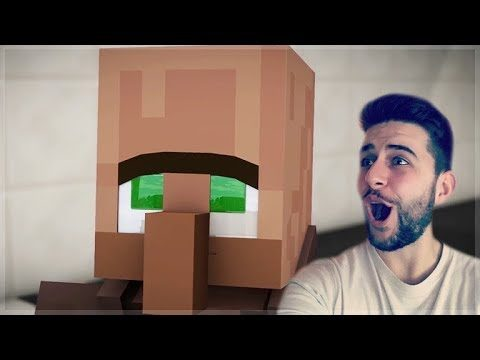 REACTING TO FUNNY MINECRAFT VILLAGER NEWS 2 MOVIE Minecraft Animations!