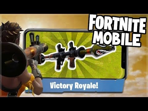 RPG TO THE RESCUE! EPIC CLUTCH FOR THE W! – Fortnite Battle Royale MOBILE!