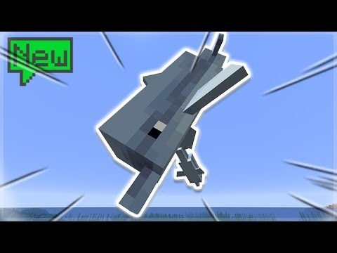 🔴AQUATIC UPDATE – Minecraft 1.13 Survival: Dolphin Friends!