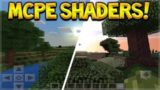HOW TO MAKE MINECRAFT POCKET EDITION LOOK BEAUTIFUL! – SIMPLE SHADERS!
