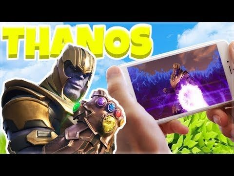 LIVE – THANOS INFINITY GAUNTLET MODE in FORTNITE!