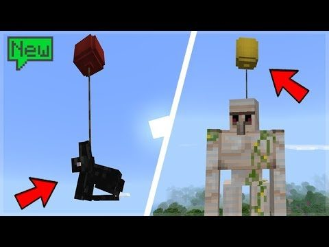 MINECRAFT MOBS Vs HELIUM BALLOONS! (Science Update)