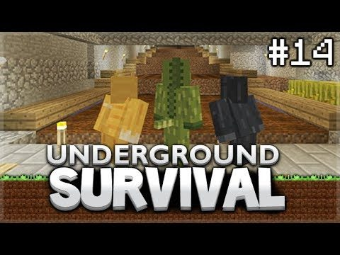 Minecraft Xbox – Underground Survival – The Dark Room! Episode 14