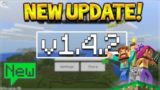 NEW MCPE 1.4.2 UPDATE! Minecraft Pocket Edition Aquatic Working Again & NEW Content!
