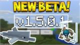 NEW MCPE 1.5.0.1 BETA! Minecraft Pocket Edition – NEW Conduit Underwater Beacon!