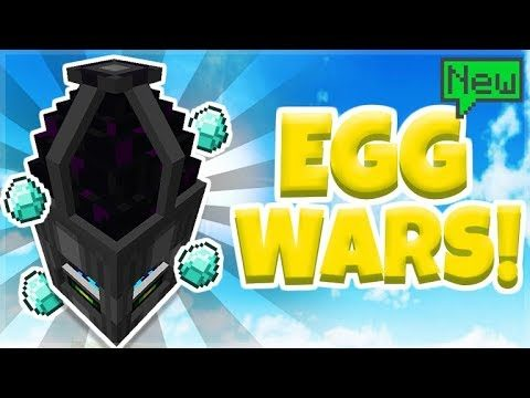 NEW MCPE EGGWARS SERVER!! Minecraft Pocket Edition CubeCraft EGGWARS! Mini-Game