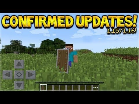 NEW MINECRAFT COMBAT MECHANICS, NEW SUPER GRAPHICS SETTINGS & UPDATE 1.15/1.16