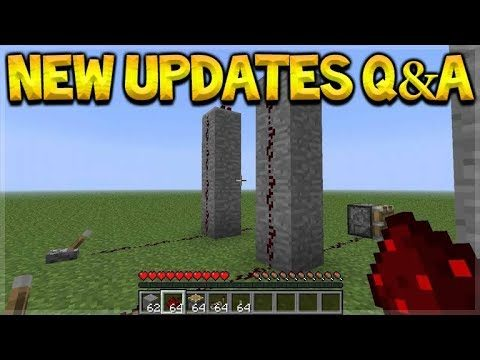 NEW Minecraft Updates – 3 Aquatic Updates & New Redstone Changes Q&A