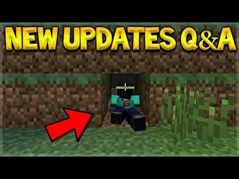 NEW Minecraft Updates – Crawling Animations! & Super Duper Graphics Pack Q&A