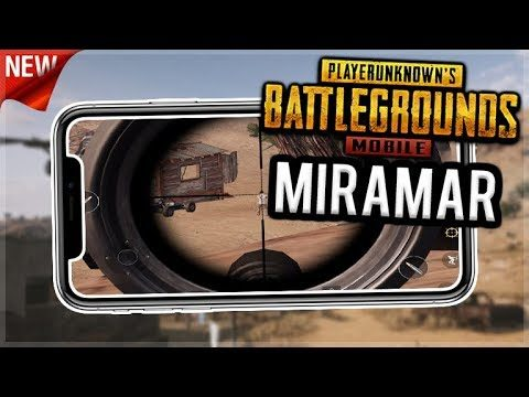 NEW MIRAMAR map RELEASED – FIRST GAME EVER! THE AWM SNIPERS DREAM! PUBG Mobile