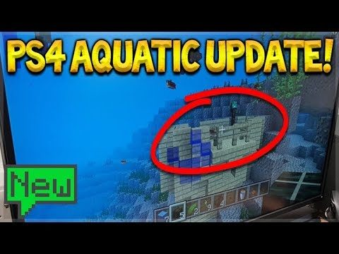 THE LAST EVER UPDATE!! Minecraft Xbox 360, PS3, WiiU – AQUATIC Update Coming (TU65 News)