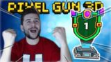 WE MADE IT TO NUMBER 1 IN THE TOURNAMENT! TRY HARD 3v3 BATTLES! | Pixel Gun 3D