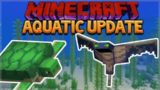 AQUATIC UPDATE! Minecraft 1.13 Survival Island – Shipwreck Hunt!