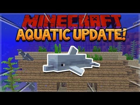AQUATIC UPDATE! Minecraft 1.13 Survival Island – Iceberg Ahead!