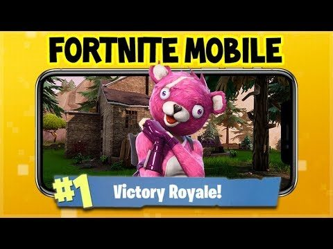Fortnite MOBILE Gameplay – Shopping CART Racing! Victory Royales (Fortnite Mobile Gameplay)