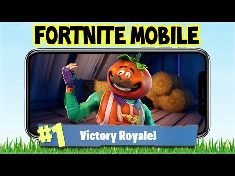 Fortnite MOBILE Gameplay – Shopping CART Victory Royales  – iOS Fortnite (Fortnite Mobile Gameplay)