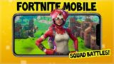 Fortnite On MOBILE DEVICE Gameplay CROSSPLAY Squads W/ Subscribers
