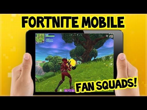 Fortnite on MOBILE DEVICE Gameplay!