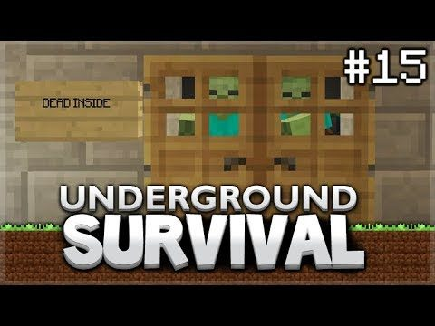 Minecraft Xbox – Underground Survival – The Wither-Boss room! Episode 15