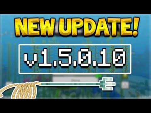 NEW MCPE 1.5.0.10 UPDATE! Minecraft Pocket Edition – NEW Menus & Turtle Eggs Fixed
