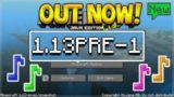 NEW MINECRAFT MUSIC! Minecraft 1.13 Pre Release OUT NOW New Blocks