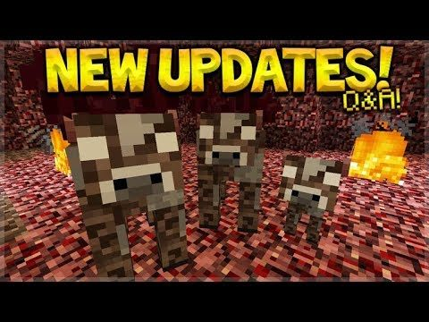 NEW Minecraft Updates – Nether Dimension Update & Quest Villagers Q&A