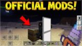 OFFICIAL MOD PACKS FOR MCPE ARE COMING! – NEW MINECRAFT BEDROCK MODDING API!
