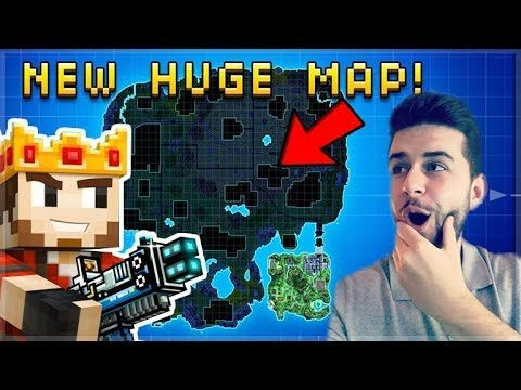 OMG! NEW BATTLE ROYALE MAP IS 8X BIGGER THAN BEFORE! | Pixel Gun 3D UPDATE!