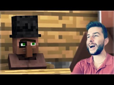 REACTING TO FUNNY MINECRAFT VILLAGER NEWS 3 MOVIE Minecraft Animations!
