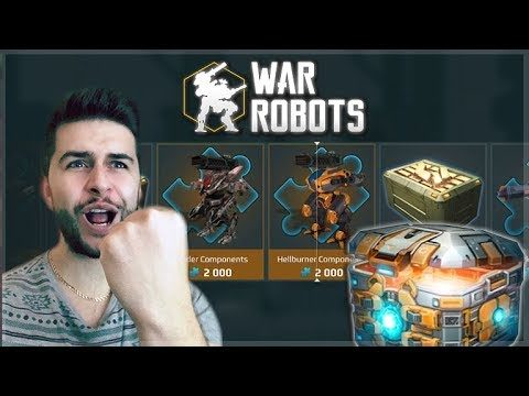 SPENDING 1,000+ KEYS ON CHESTS! FIRST EVER CHEST OPENING! | War Robots