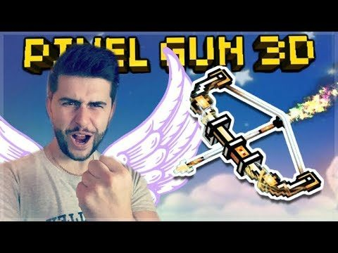 THE ANGEL FROM ABOVE! EPIC ARCHANGEL HIT SHOT SNIPER! | Pixel Gun 3D