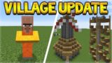 VILLAGER UPDATE!! Minecraft Villager Update COMING! – NEW Villagers & Professions