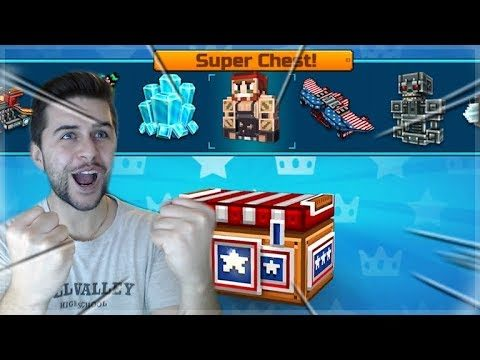 AMAZING BATTLE ROYALE SUPER CHEST OPENING! MY BEST OPENING YET! | Pixel Gun 3D