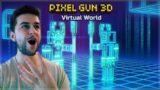 CAMPAIGN WORLD 4 CONQUERING THE INTERNET! & BATTLE ROYALE VEHICLES! | Pixel Gun 3D