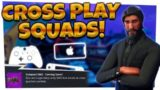 Fortnite: Compact SMG Hype!  | CROSSPLAY SQUADS | iOS, Xbox, Switch!