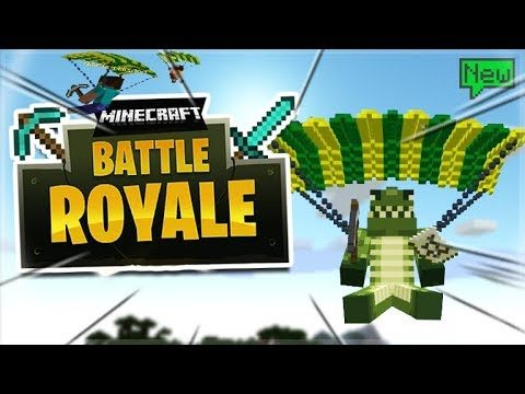 FORTNITE IN MINECRAFT! – Minecraft Battle Royale MINI-GAME Server!